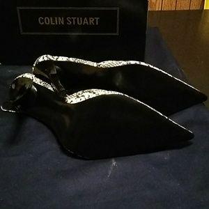 Colin Stuart Shoes - A black & white pair of colin stuart
